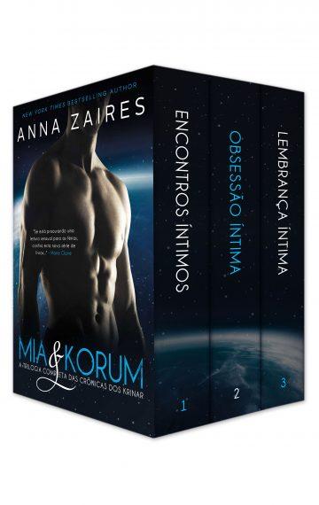 Mia & Korum: A Trilogia Completa das Crônicas dos Krinar