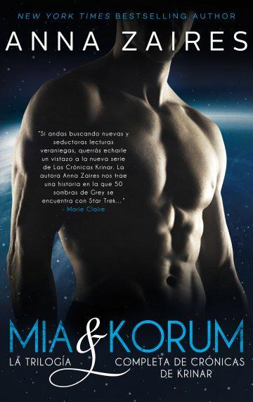 Mia & Korum: La trilogía completa de Crónicas de Krinar